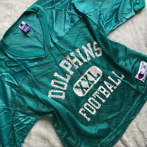 61771de5b Champion Other - VTG 90s Champion Miami Dolphins Football Jersey